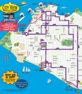 city view trolley bus route